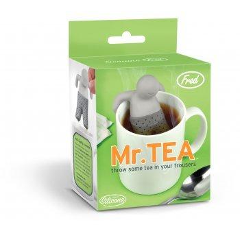 Mr. T Mister Tea Infuser - Loose Leaf Tea Leaves Mug Steeper & Strainer