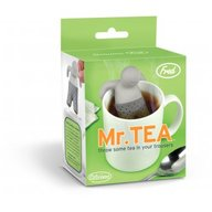 Mr. T Mister Tea Infuser - Loose Leaf Tea Leaves Mug Steeper & Strainer