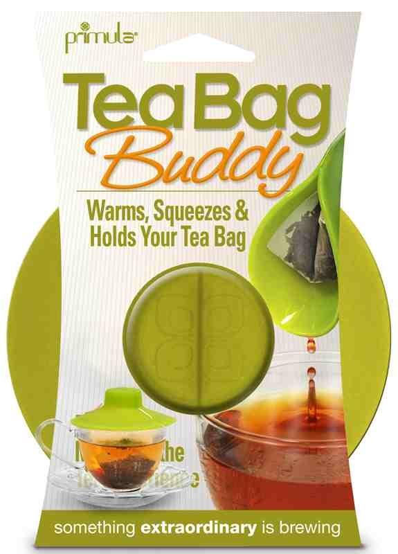 Tea bag buddy green package