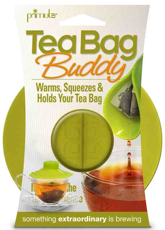 Tea bag buddy green package