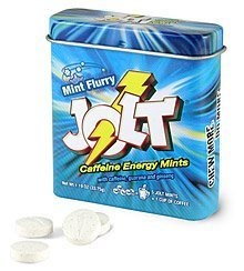 Jolt Mints Caffeine Energy Breath Mint Caffeinated Candy (1 Tin / 60 pc)