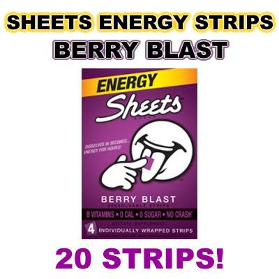 Sheets berryblast 20ct