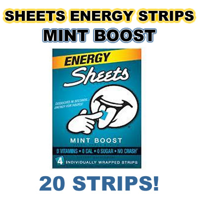 Sheets mintboost 20ct