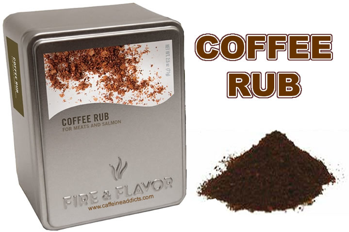 Coffee rub single words