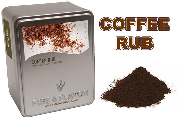 Coffee rub single words