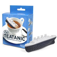 Teatanic Tea Infuser - Titanic Boat Loose Leaf Tea Leaves Mug Steeper & Strainer