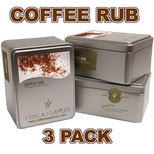 Coffee rub 3pk words