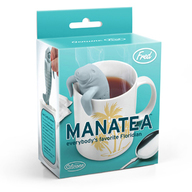 Manatea Tea Infuser - Florida Manatee Sea Cow Loose Leaf Tea Leaves Mug Steeper & Strainer