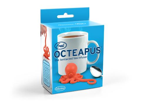 Octeapus Tea Infuser - Octopus Squid Loose Leaf Tea Leaves Mug Steeper & Strainer