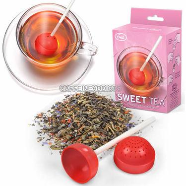 Sweet Tea Infuser - Lollipop Candy Loose Leaf Tea Leaves Mug Steeper & Strainer