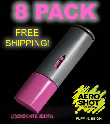 Aeroshot raspe 8pack words