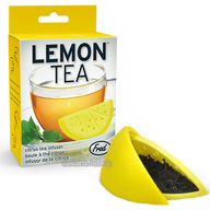 Lemon Tea Infuser - Lemon Wedge Loose Leaf Tea Leaves Mug Steeper & Strainer