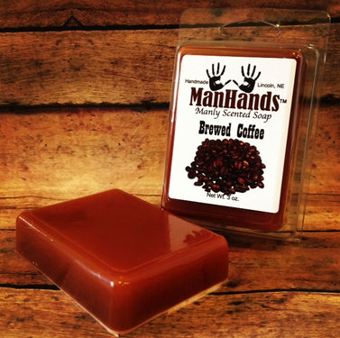 Coffee Soap - Brewed Coffee Scented Hand & Bath Soap (3 oz bar)