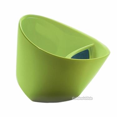 Magisso Tipping Teacup Green - Tilting Tea Cup Infuser Strainer In Mug