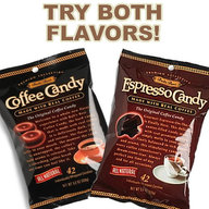 Bali's Best Coffee & Espresso Real Coffee Candy Caffeine On The Go (2 Pack)