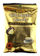 Bali's Best Cafe Latte Candy with Real Coffee Caffeine On The Go (5.3 oz Bag)