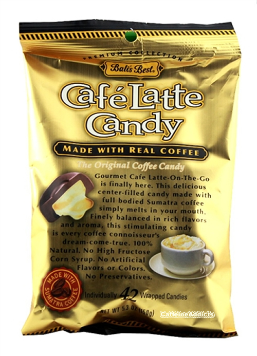 Cafe latte candy