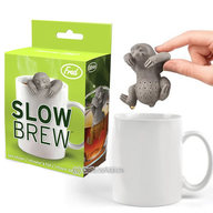 Slow Brew Tea Infuser - Cute Sloth Hanging Loose Leaf Tea Leaves Mug Steeper & Strainer