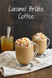 Caramel Brulee Coffee!