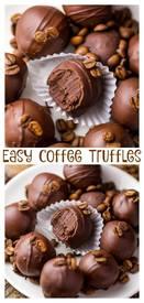 Easy Coffee Truffles!