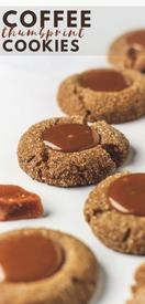 Coffee Thumbprint Cookies!