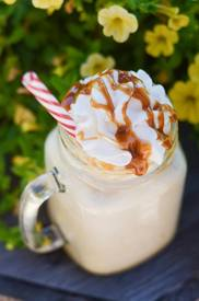 Frozen Caramel Coffee!