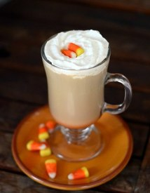 Candy Corn Latte!