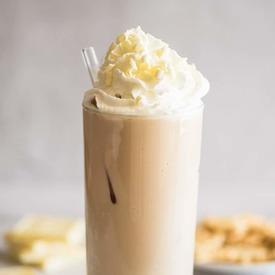 Iced White Chocolate Mocha!