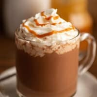 Homemade Salted Caramel Mocha!