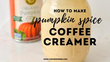 Pumpkin Spice Coffee Creamer!