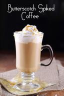 Butterscotch Spiked Coffee!