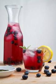 Blueberry Iced Green Tea!