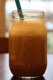 Almond Butter & Pumpkin Iced Coffee!