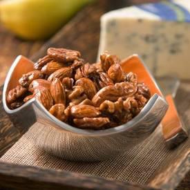 Coffee Glazed Nuts!