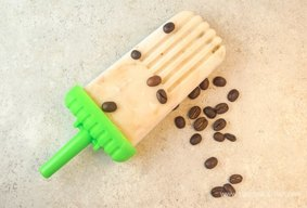 Coffee Cheesecake Popsicles!
