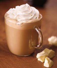 White Chocolate Mocha!