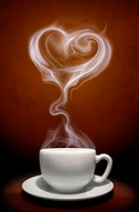 Coffee Steams My Heart!