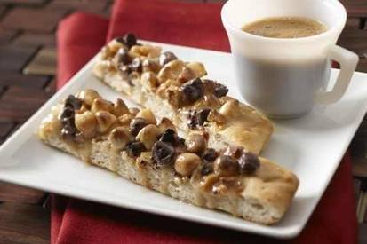 Coffee & Cream Pizza!