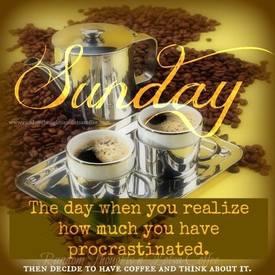 Ahhh Sunday!