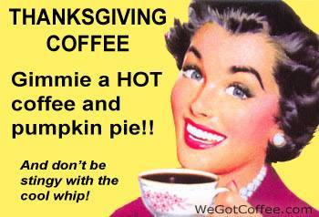 Thankful For Coffee!