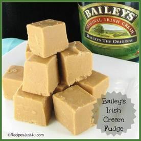 Bailey's Irish Cream & Coffee Fudge!