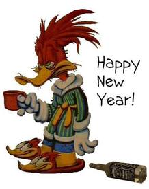 Happy New Year! Have Too Much Fun Last Night…coffee To The Rescue!!