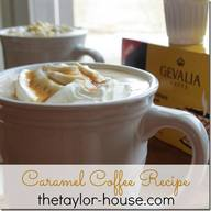 Hot Caramel Coffee!