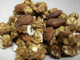 Coffee Almond Caramel Popcorn!