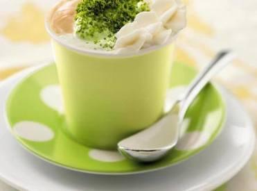 Coffee Pistachio Semi Fredle Drink!
