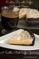 Kahlua Pie With Coffee Whipped Cream!