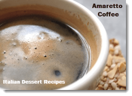 Amaretto Coffee!