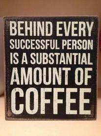 Caffeine = Success!