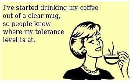 Caffeine Makes Me Nicer!
