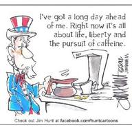 Even Uncle Sam Liked His Cup Of Joe!